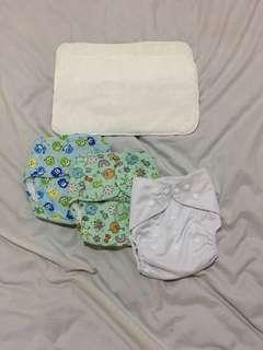 Cloth Diaper TAKE ALL 4