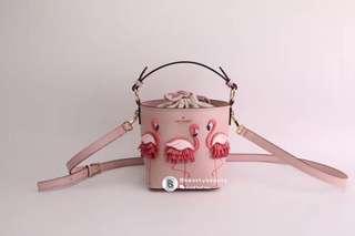 Kate Spade Pippa Bucket Bag - flamingo
