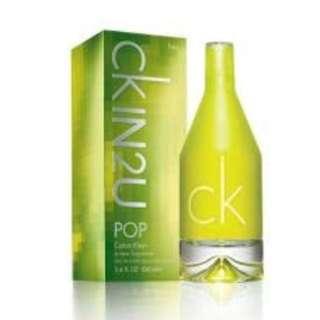SALE parfun original CK IN2 U pop 100000% asli