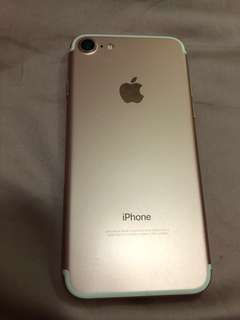 iPhone 7 128GB APPLE rose gold 玫瑰金 粉紅色 4.7