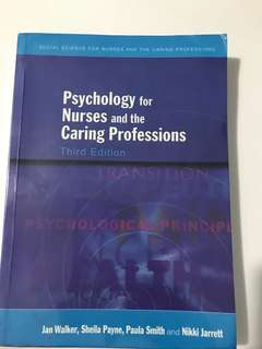 Psychology for Nursing and the Caring Professions