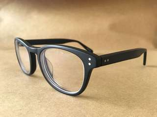 Matte Black Eyeglasses by Sunnies Specs