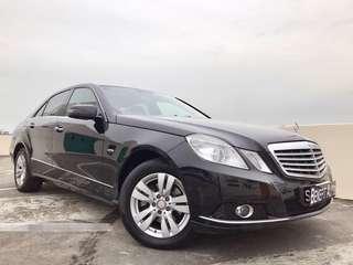 Mercedes-Benz E200 Saloon Auto