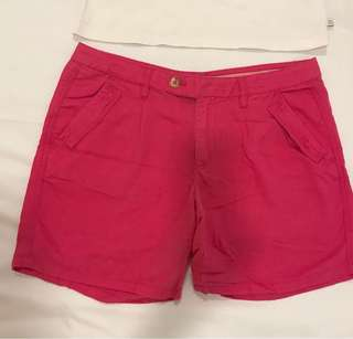 Hot Pink Esprit Shorts