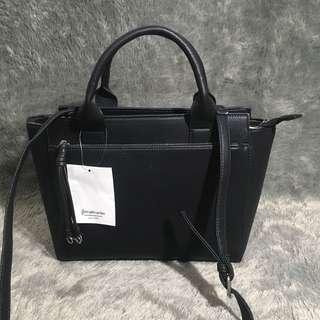 Stradivarius Handbag Black Tas Kantor