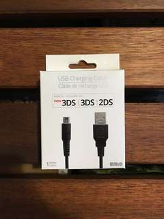 USB Charging Cable for 3DS/2DS