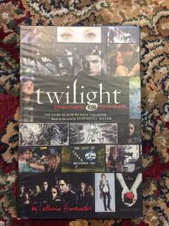 Twilight Movie making Book