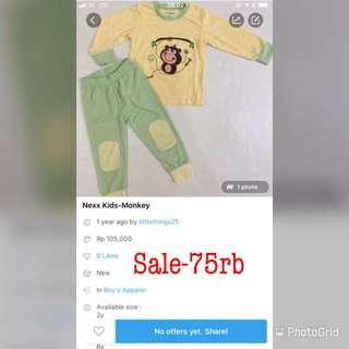 SALE-Monkey Pajamas