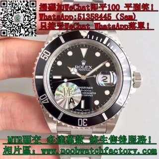 JF廠 勞力士Rolex Submariner Date 16610 黑圈 40mm 面交