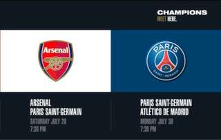🚚 PSG Vs Arsenal game