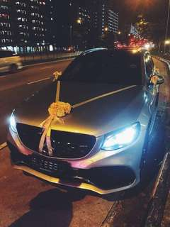 👰🎩 Mercedes Wedding Car ! - Mercedes GLC SUV