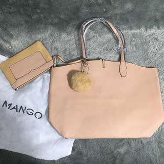 Mango Bag Tas Creme Free Pouch