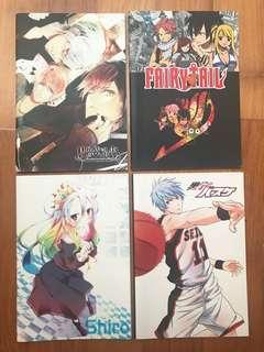 Anime Notebooks