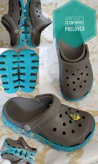 AUTHENTIC CROCS KID'S PRELOVED J3
