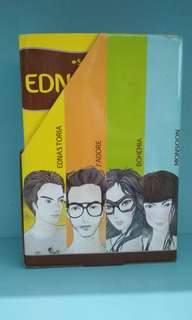 Syahmedi Dean book set EDNASTORIA, J'ADORE, BOHEMIA, MONSOON