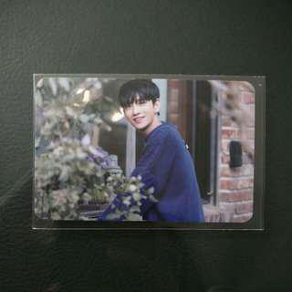 [WTS] Seventeen Joshua Thanks Broadcast Photocard
