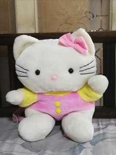 Hello Kitty Backpack/Stuffed Toy