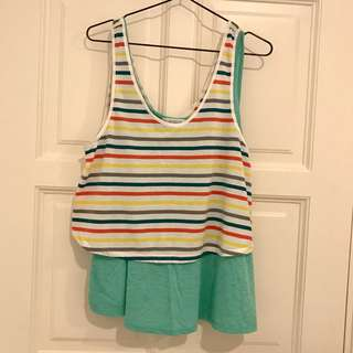 Forever 21 Oversized Tank Top Set #july100