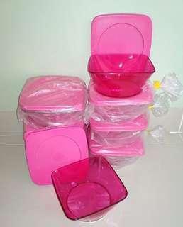 Mangkok spiral pink 2pc