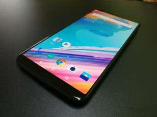 One Plus 5T 128GB 8GB Ram Black 4G LTE