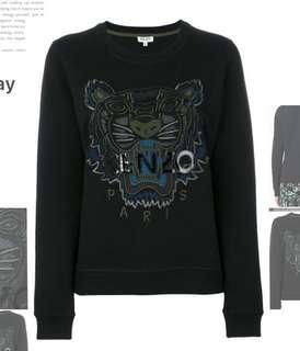 Kenzo Paris Tiger Sweatshirt