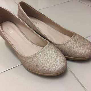 Vern's glittered sandal #july70