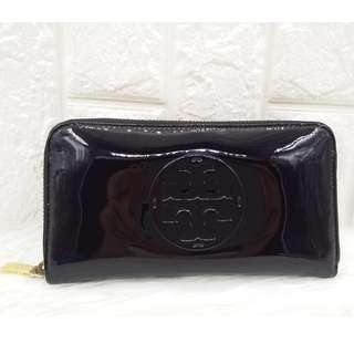 Tory Burch Long Zippy Wallet - Black