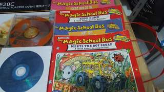 magic school bus story book with 2 disc