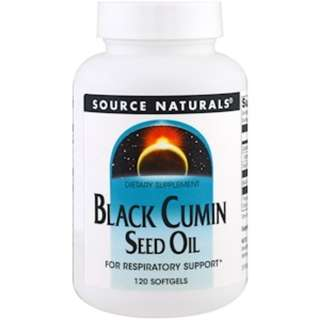 Source Naturals, Black Cumin Seed Oil, 120 Softgels