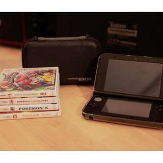 3DS XL (black) + Pokemon X