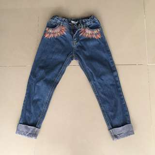 EMBROIDERED JEANS GINGERSNAP