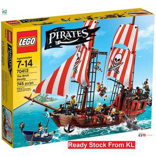 LEGO Pirates The Brick Bounty 70413 Discontinued Set LEGO® Imperial Flagship Toy