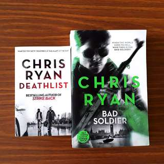 2 for $10: By Chris Ryan: Deathlist; Bad Soldier
