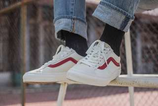 vans style 36 marshmallow red