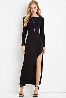 Forever 21 Long back dress
