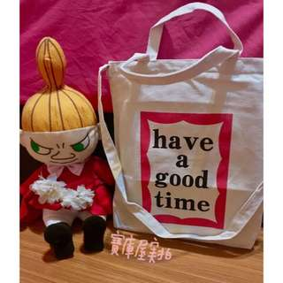 🚚 Have a good time 帆布包