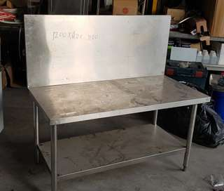 Stainless steel stove table