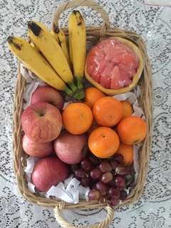 Send a fruit basket to a loved one! Free delivery!