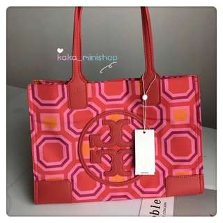 新款Tory Burch Ella printed tote bag