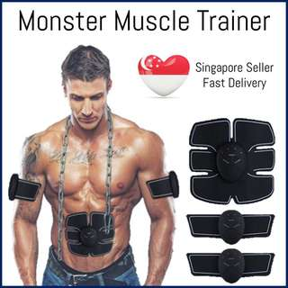 🚚 ⭐️EMS Monster Muscle Trainer BNIB electrical stimulation for muscle training