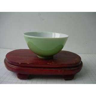 青瓷碗 三和出品 10.5cm