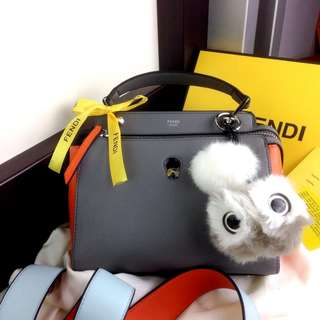 PO.3-5hari. Super quality of Fendi bag. Size 23x11x20cm. With Box. (LIMITED STOCK). Fendi seri dot-com colorblock leather bag. 2 Warna.