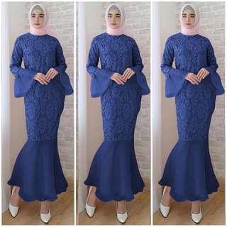 Vs MERMAID MARON l atasan fashion baiu muslim gamis brukat baju duyung dress kebaya wanita