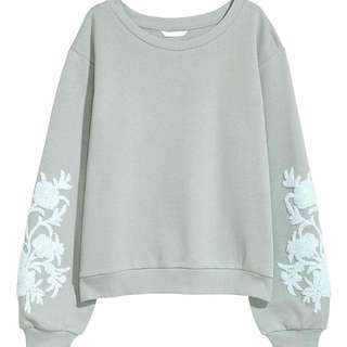 H&M Embroidery Sweater