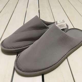 🚚 無印良品 MUJI 室內拖鞋 柔軟拖鞋 米色 M、L、XL