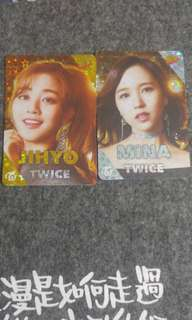 Twice 閃卡 jihyo mina志效