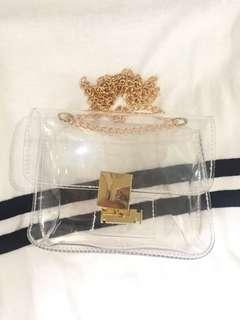 Transparent slingbag / Slingbag transparan