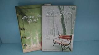 Gayle Forman's If I Stay & Where She Went book set