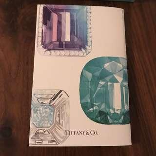 Tiffany & Co. diamond pattern plain notebook 筆記簿