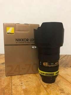Nikon AF-S 24-70mm f/2.8